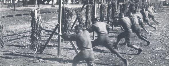 1919 WWI addestramento baionetta